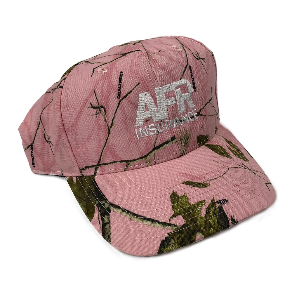 Pink Camo Baseball Cap